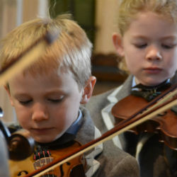Heywood Prep pupils perform at Marlborough College Strings Day