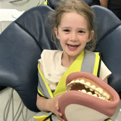 A trip in the dentist's chair!